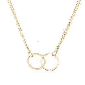 """Salty Cold Brew Jewelry - Dainty """"Karma"""" Pendant Necklace"""